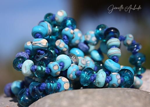 Rain Dance Necklace - Heart of Glass Jewelry