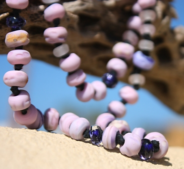 Wisteria Necklace by Jenelle Aubade