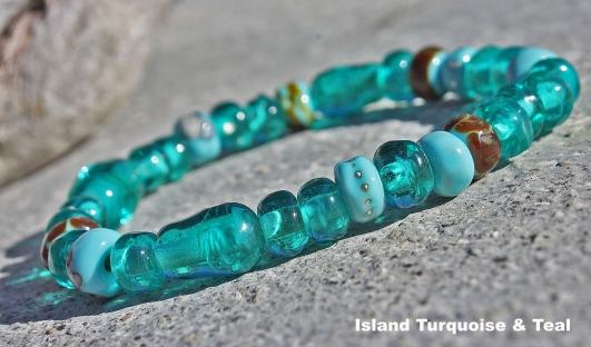 Bracelet-IslandTurquoiseTeal