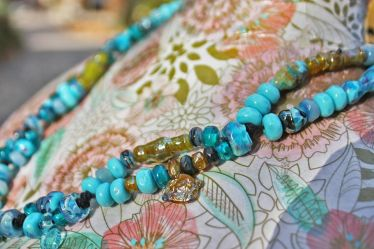 Necklace-AphroditeTurquoise