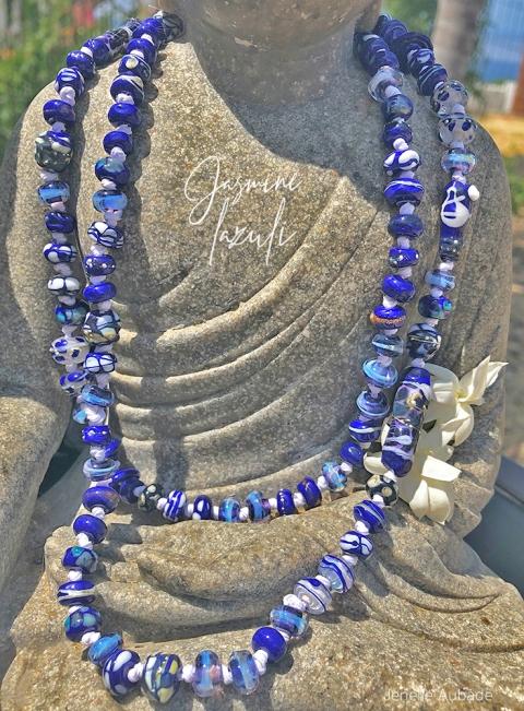 Jasmine Lazuli Necklace